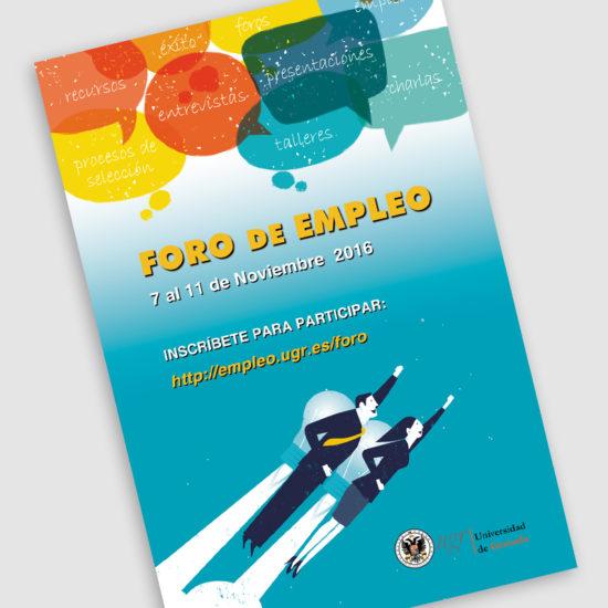 FORO DE EMPLEO 2016 Universidad de Granada